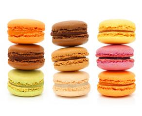 Macaron french pastries