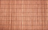 Bamboo brown straw mat as abstract texture