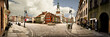 Leinwanddruck Bild - Poznan Market Panorama