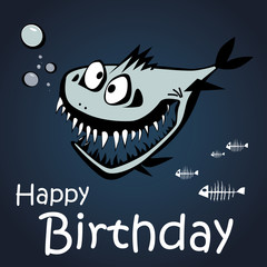 Happy Birthday fish
