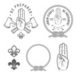 Scout symbols and design elements - 62187287