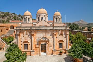 Греция. Остров Крит, монастырь Агиа Триада (Святой Троицы)