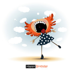 Happy Birthday smile baby gift
