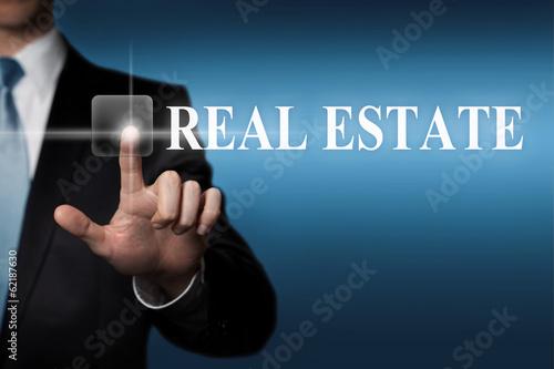 real estate - touchscreen