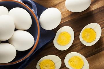 Organic Hard Boiled Eggs
