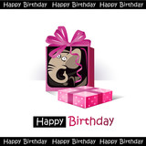 Happy Birthday smile  elephant gift