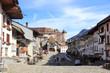 Leinwandbild Motiv Village de Gruyères en Suisse
