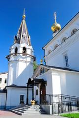Gorodets (Russia). Fyodorovskaya church in Feodorovsky monastery
