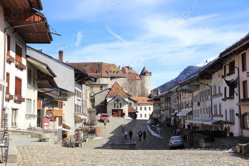 Village de Gruyères en Suisse - 62191846