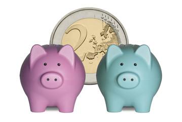 Couple Piggy Bank