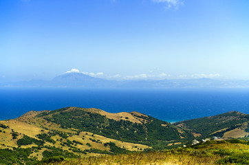 View to Africa, the Strait of Gibraltar