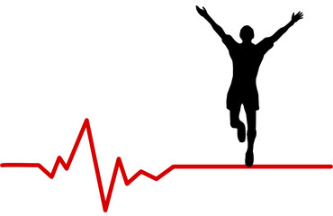 Jogger Herzschlag