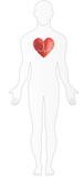 Heart Disease Human Body poster