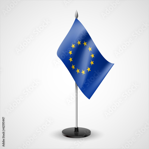 Table flag of European Union