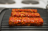 cevapcici - serbian sort of rolled minced beef, pork and lamb