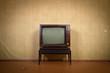 Leinwanddruck Bild - TV