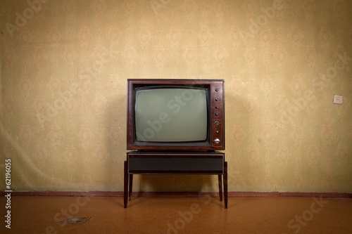 Leinwanddruck Bild TV