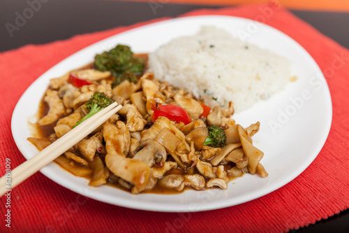 Chicken Curry with Vegetables