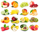Fototapety Collection of fresh fruits