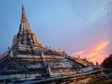 Old temple in Ayutthaya : Thailand