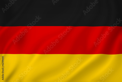 canvas print picture Germany flag