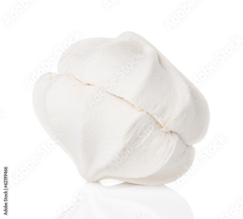 white zephyr isolated on white background