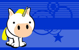 unicorn cute baby cartoon wallpaper