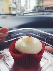 Cupcake on Valentine's Day