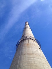 Power house chimney