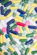 Colorful of pills and capsules