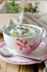 Cold summer soup