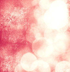 Soft Pink Bokeh Retro Background