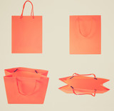 Retro look Shopping bag