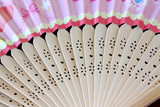 Pattern of Japanese folding fan.
