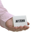 Access - Sign Series