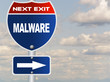 Malware road sign
