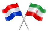 Flags: the Netherlands and Iran