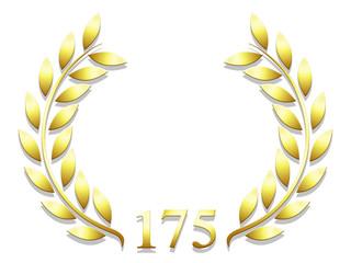 Lauriers anniversaire 175