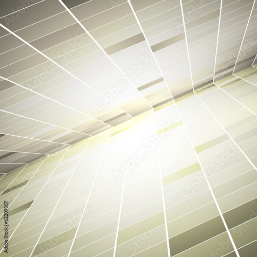 Abstract geometric background. Vector Illustration