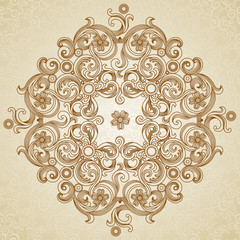 Abstract vector circle background.