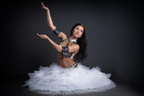 Image of sensual young belly dancer