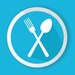Spoon symbol,vector