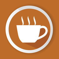 Coffee symbol,vector