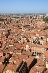 Bologna. Aerial view
