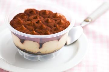 dessert tiramisu in cup