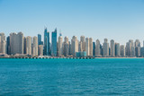 General view of the Dubai Marina UAE