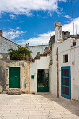 typical old houses in Salento - Italy