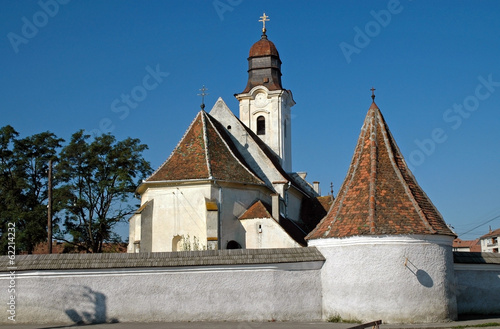 Armenian catholic church in Gheorgheni, Romania