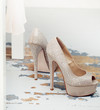 canvas print picture - Beautiful shoes