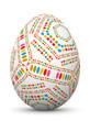 Osterei, Ei, Ostern, Muster, bunt, Easter Egg, Pattern, Design